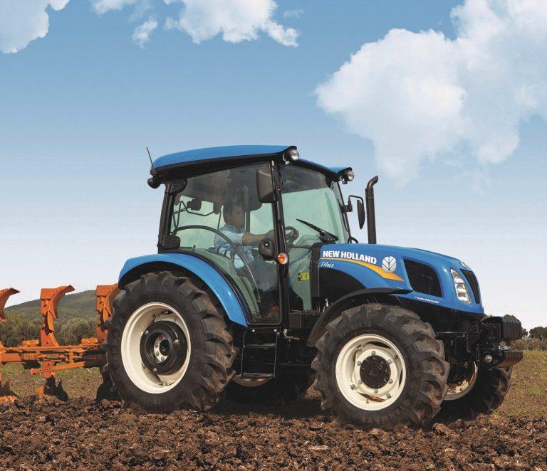 Traktor T4.55 S mit Stoll Frontlader