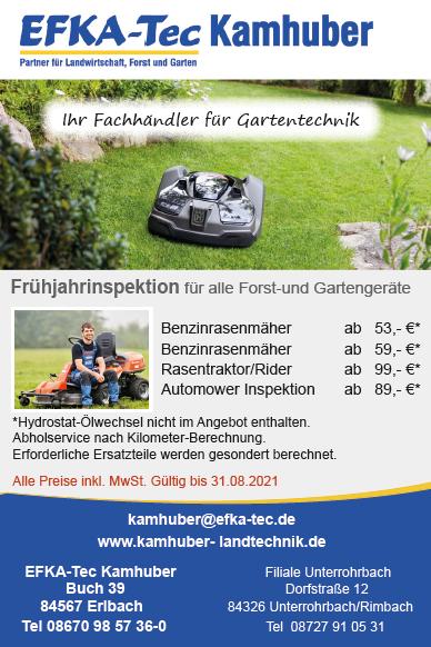 Kundendienst für Gartengeräte